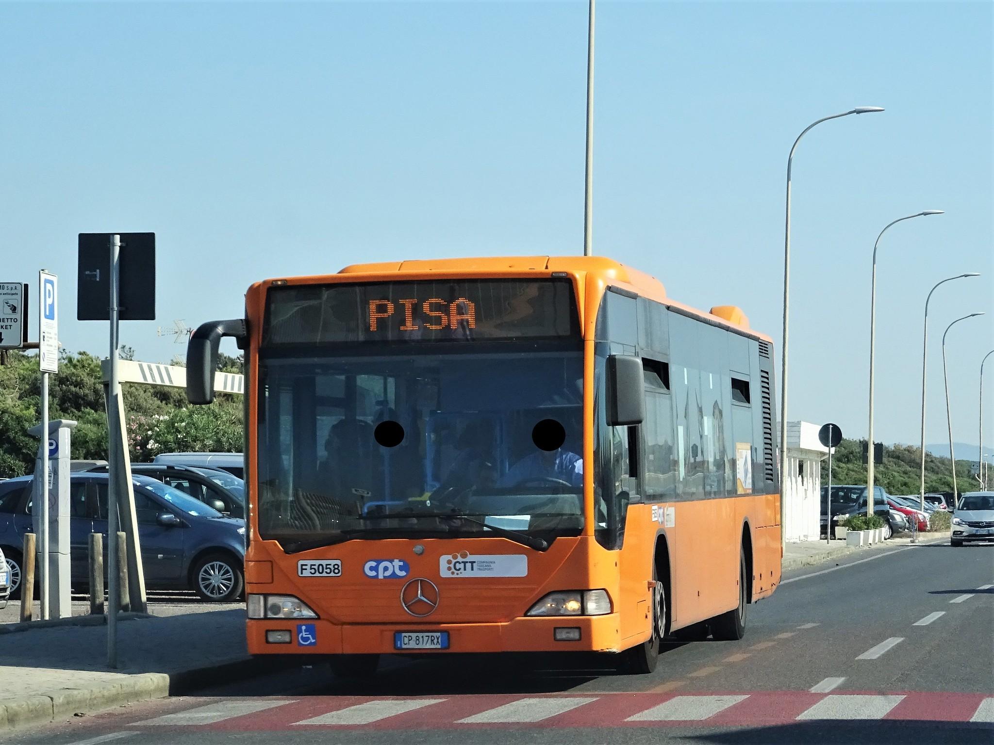come arrivare a lucca da pisa in autobus