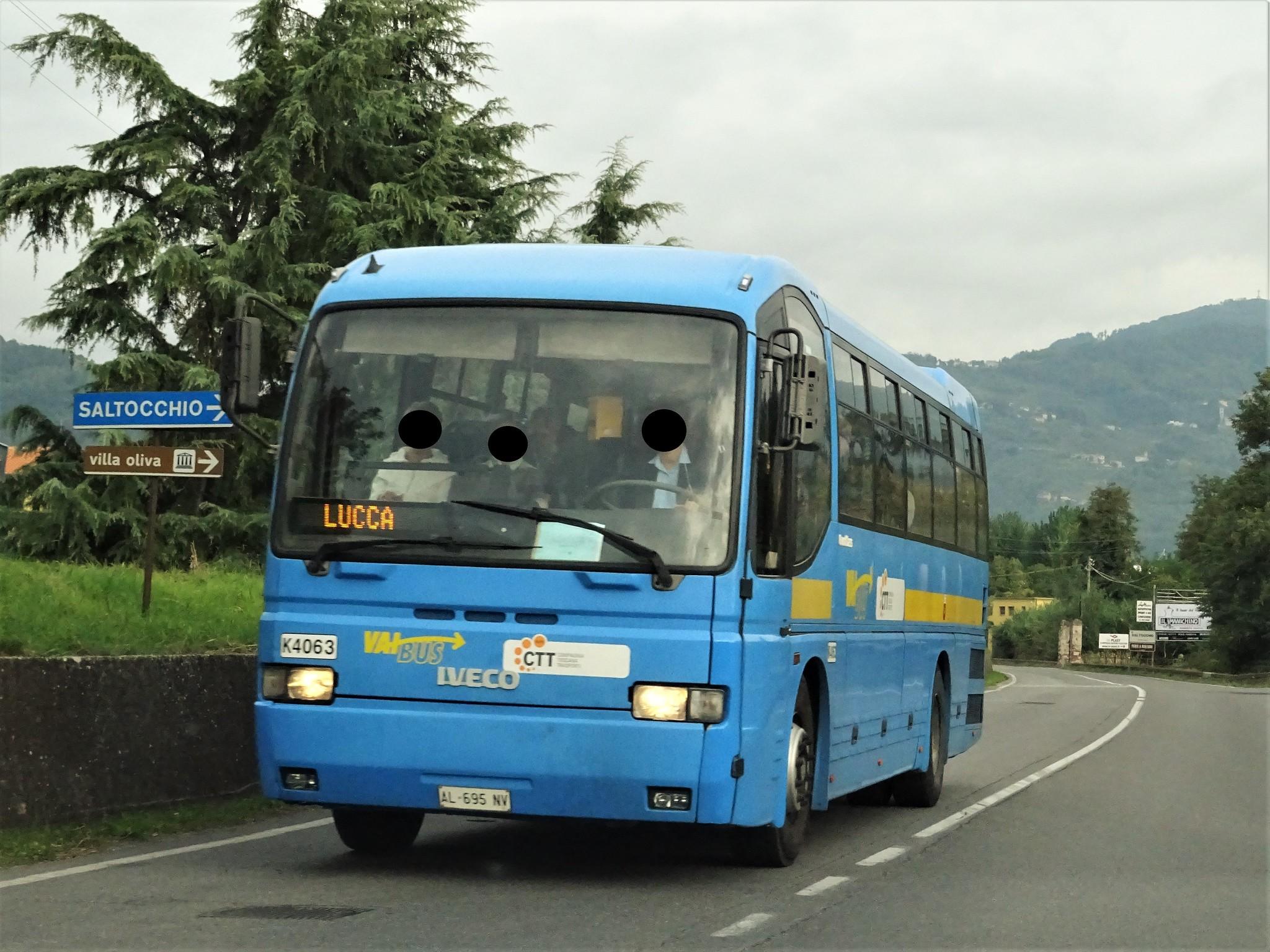 come raggiungere lucca da napoli in autobus