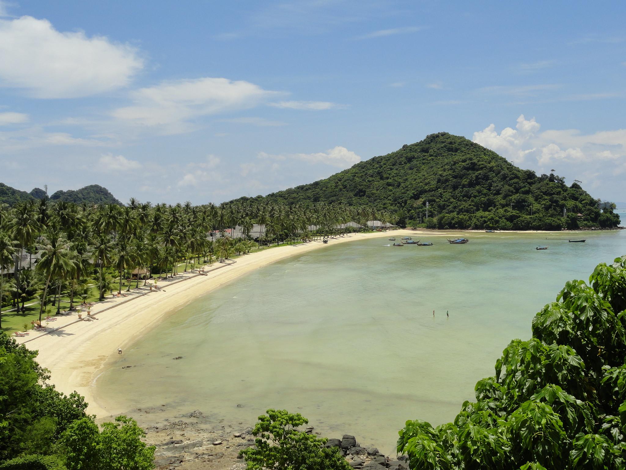 isola di Phi Phi a dicembre
