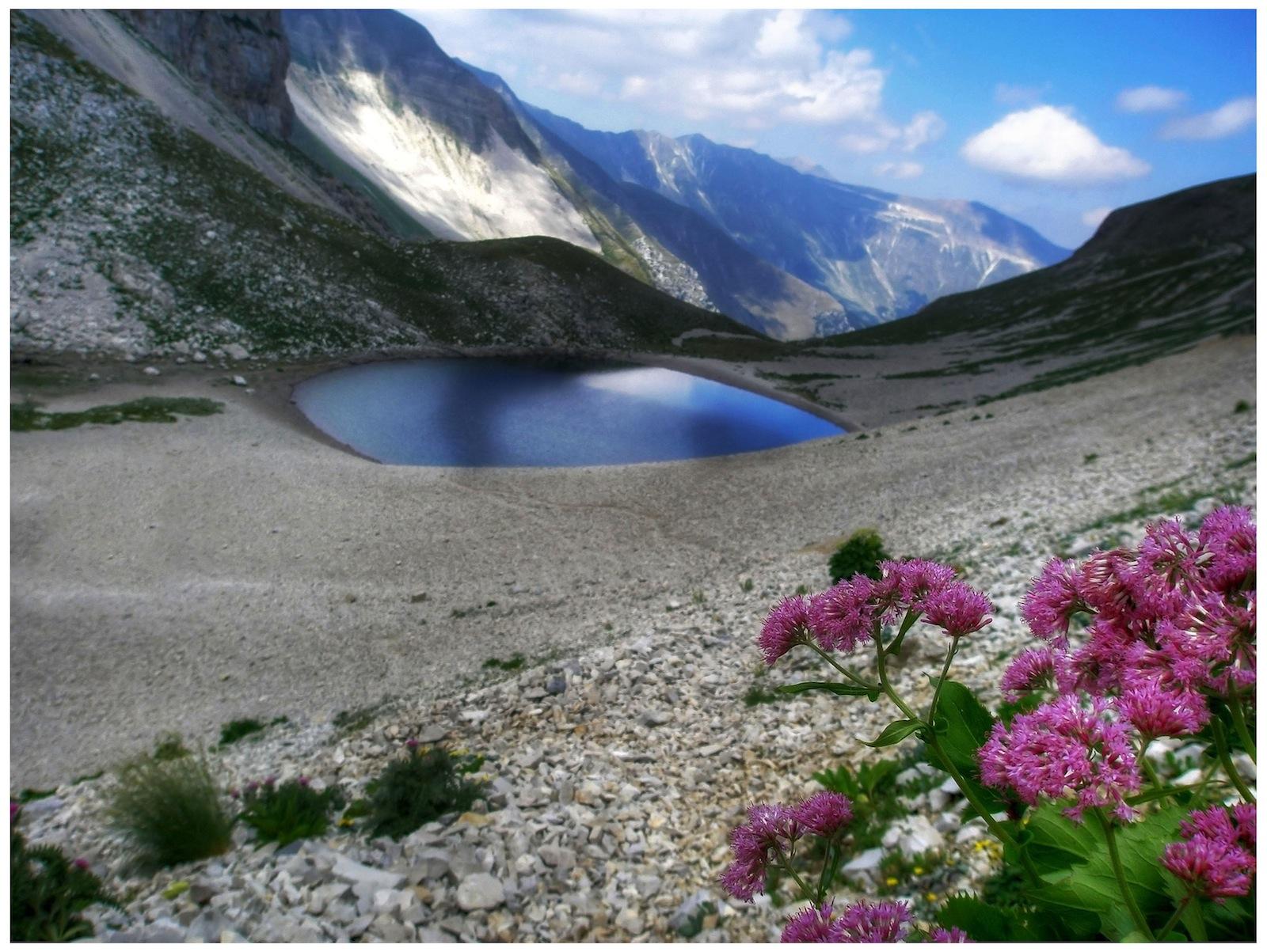lago di pilato a maggio