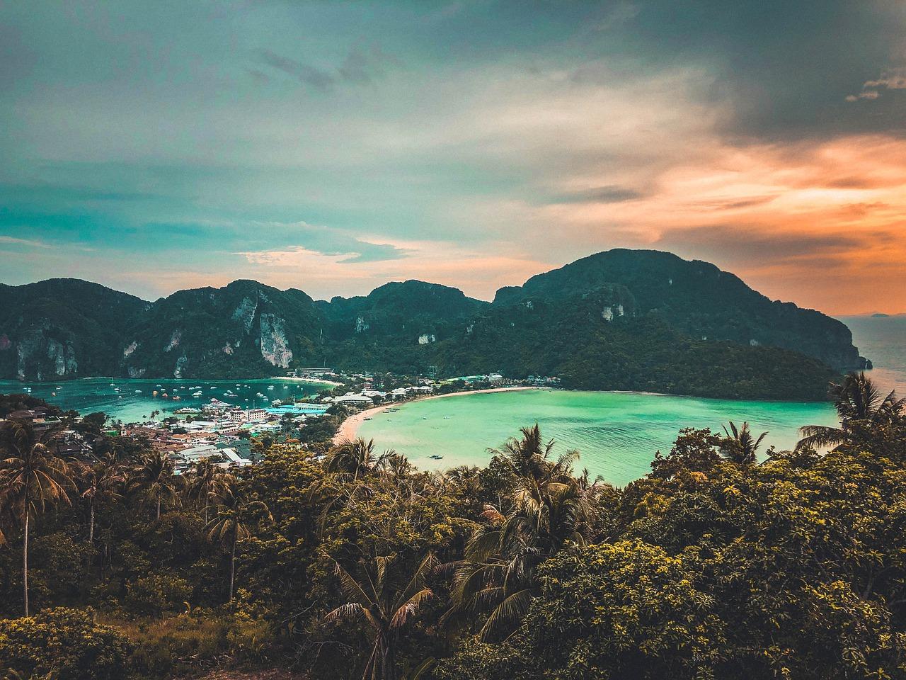 Mare a dicembre in Thailandia