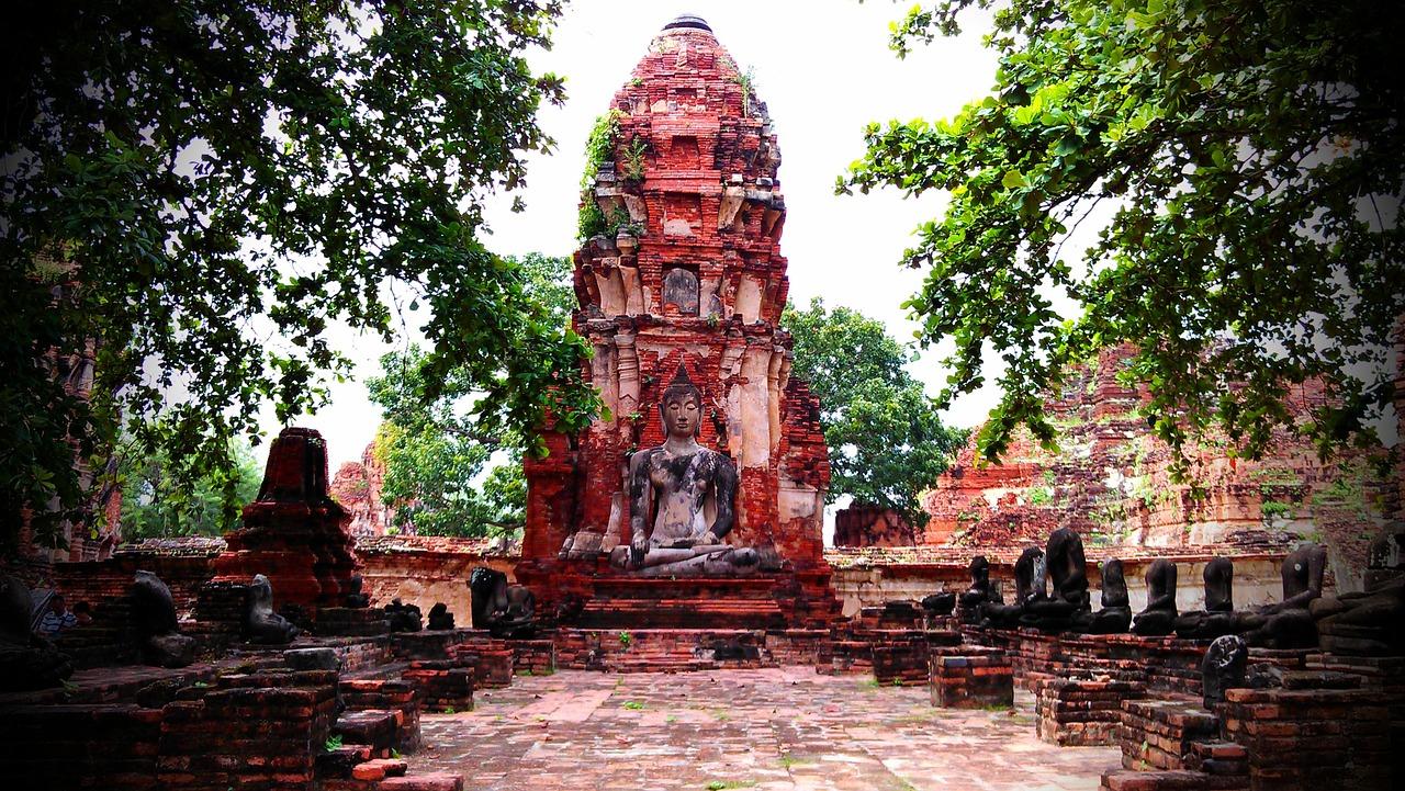 mare a dicembre thailandia templi