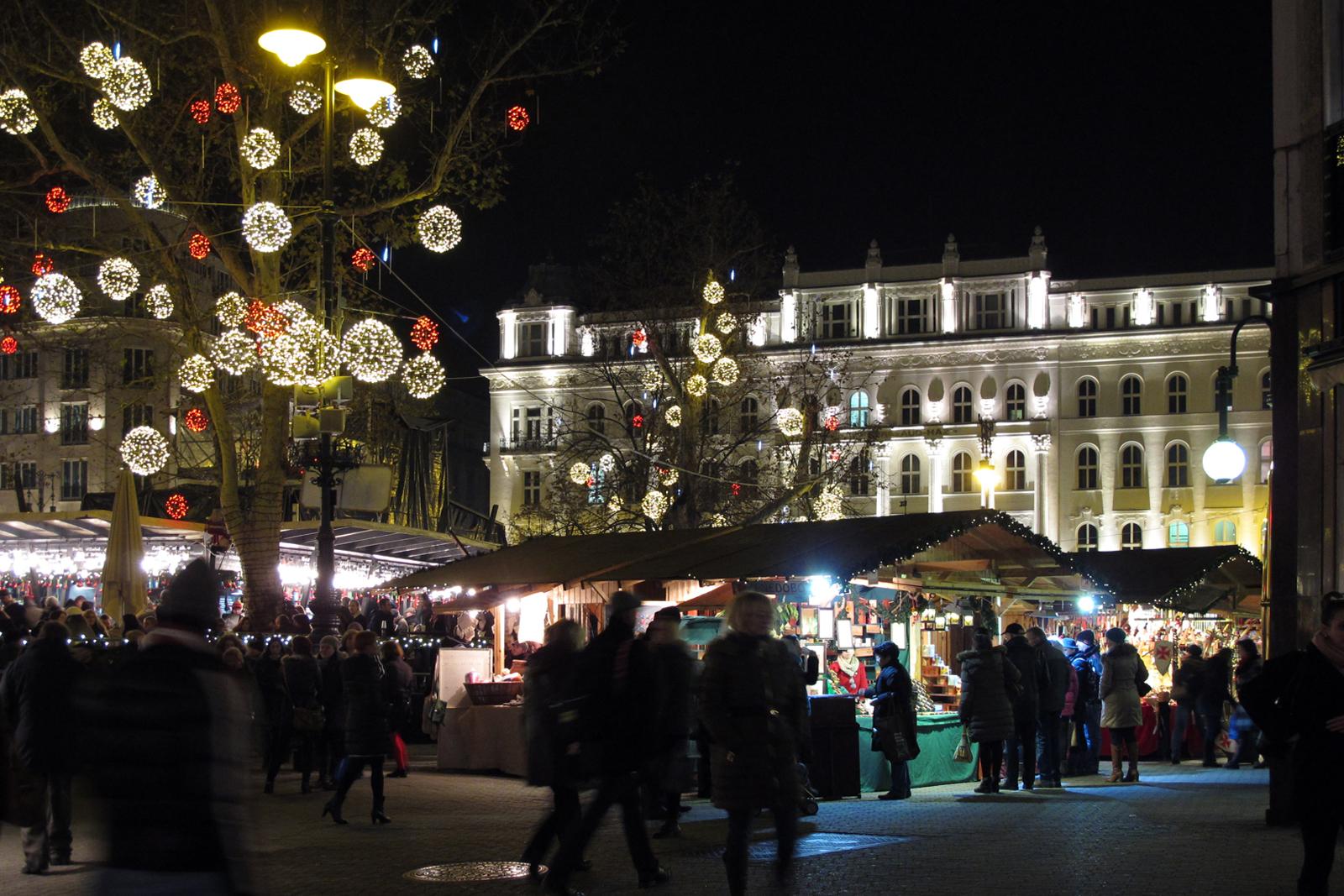 Mercatini di Natale Budapest 2019 date