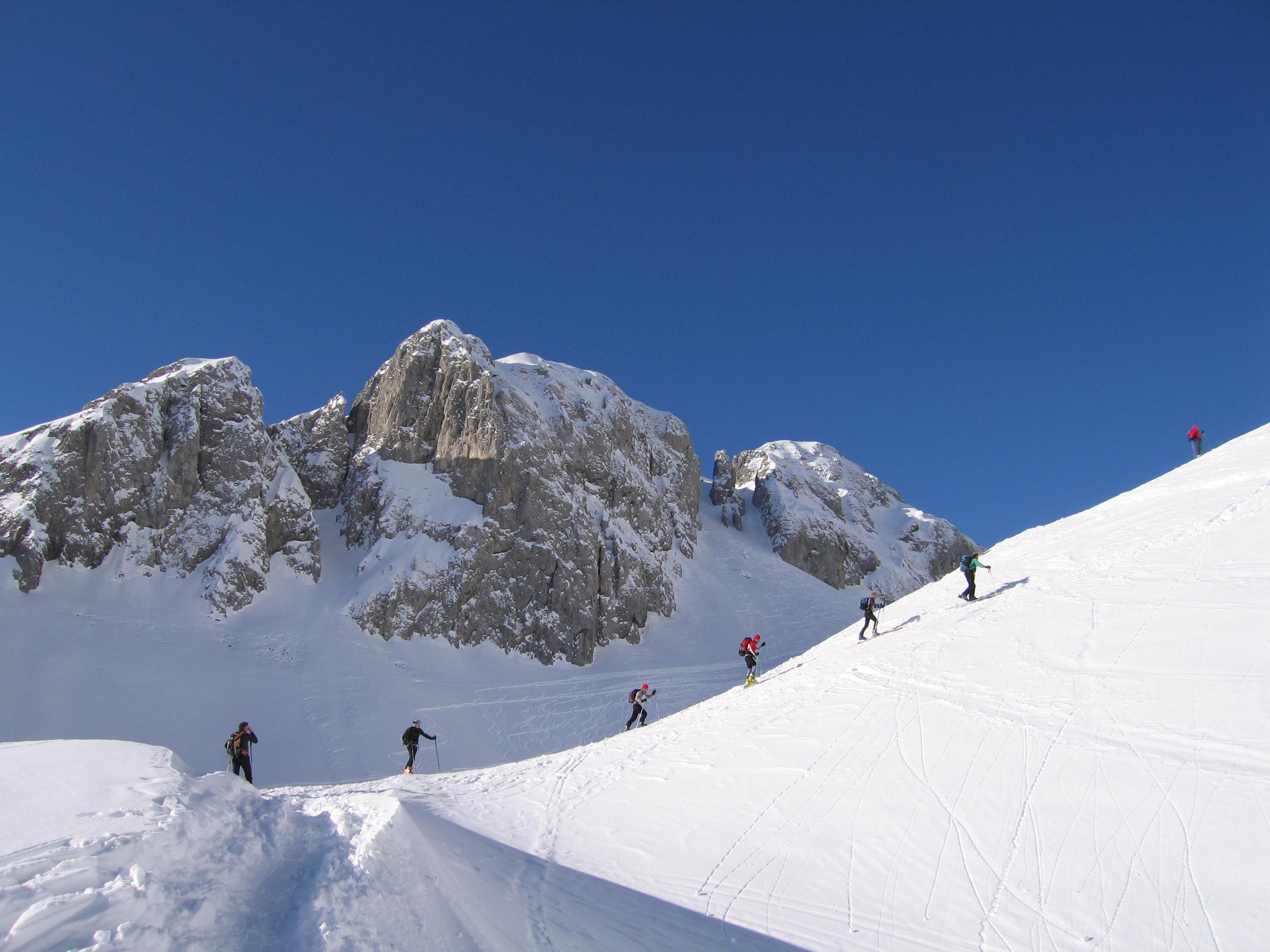 Piste da sci vicino Selvino