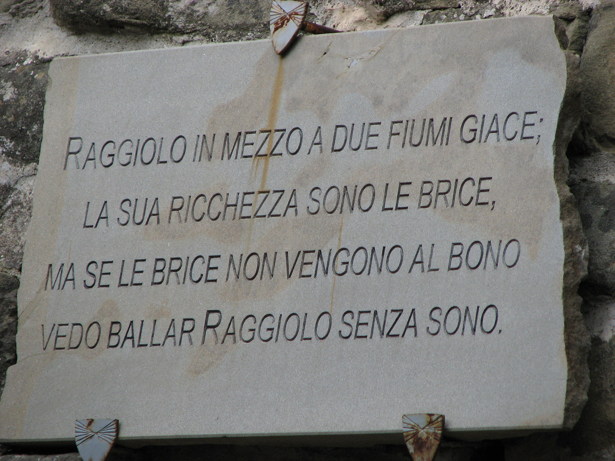 castagnatura di Reggiolo