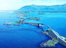Strada più bella del mondo in Norvegia