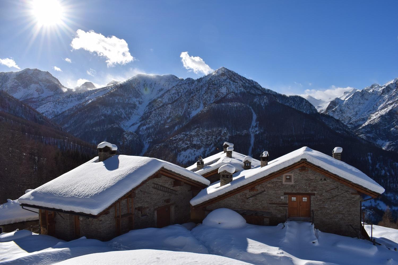 week end sulla neve in baita