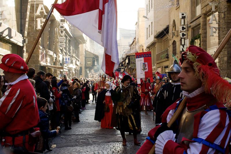 la cavalcata dei magi a Firenze - Epifania