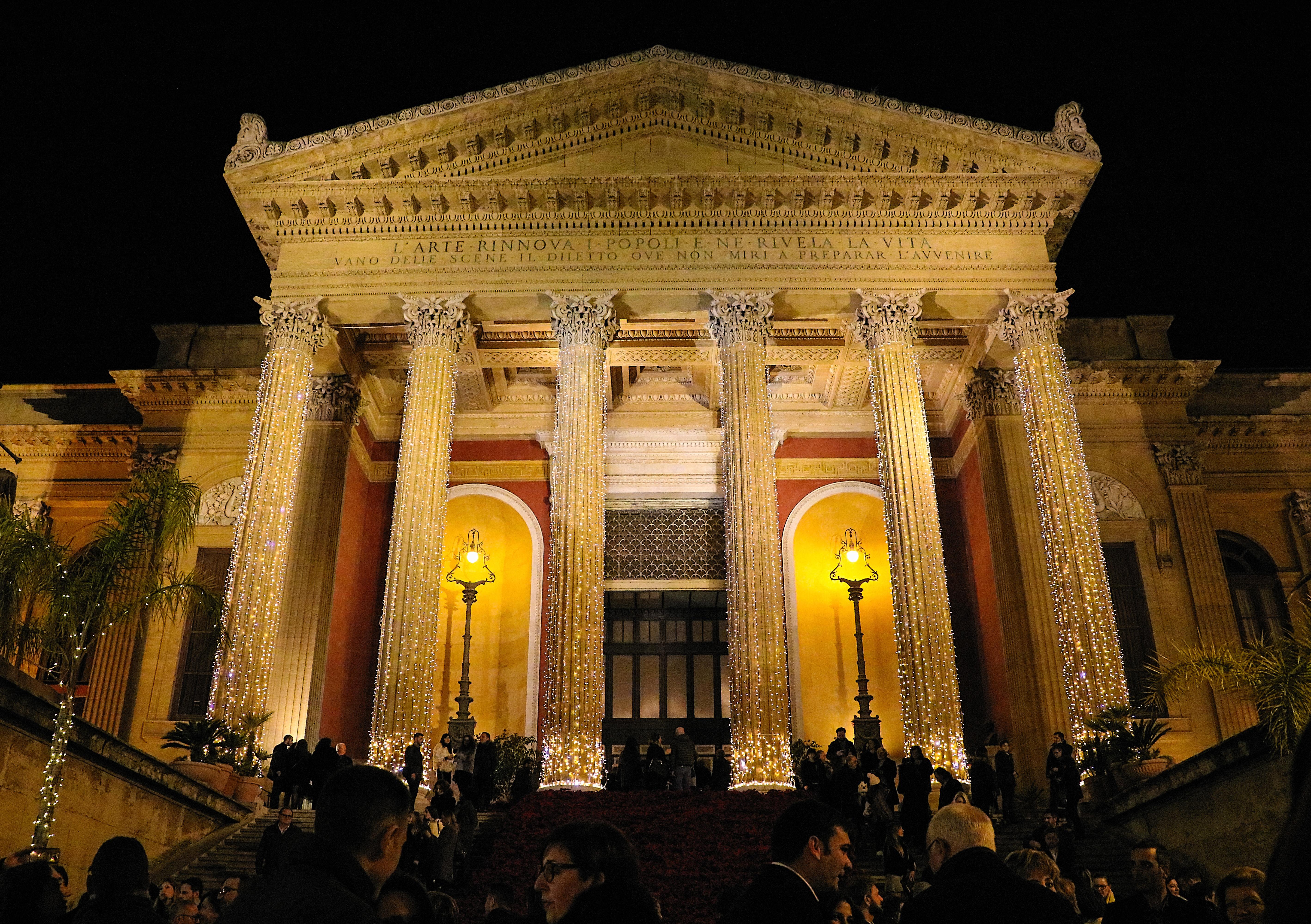 Concerto di Capodanno 2019 al teatro Massimo di Palermo
