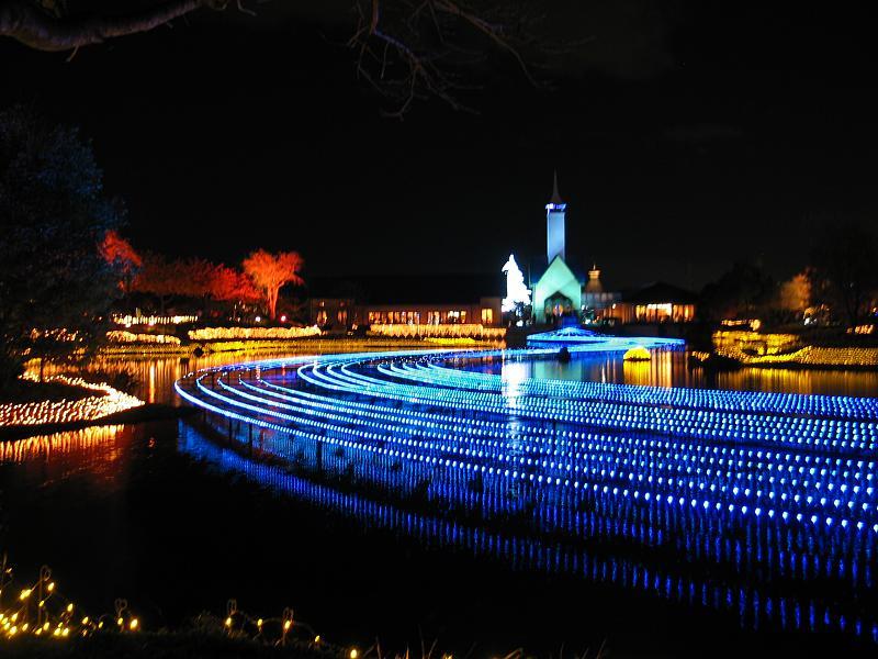 Luci di Natale di Nabana No Sato