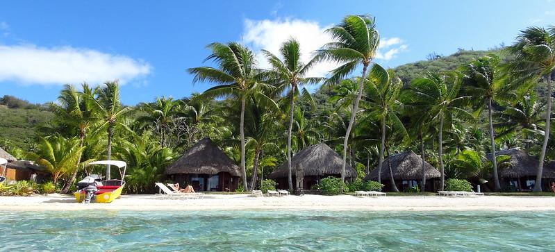Isola di Bora Bora In Polinesia