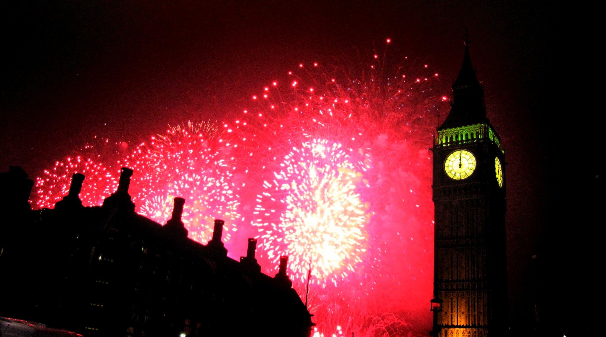 Cenone di Capodanno a Londra 2020