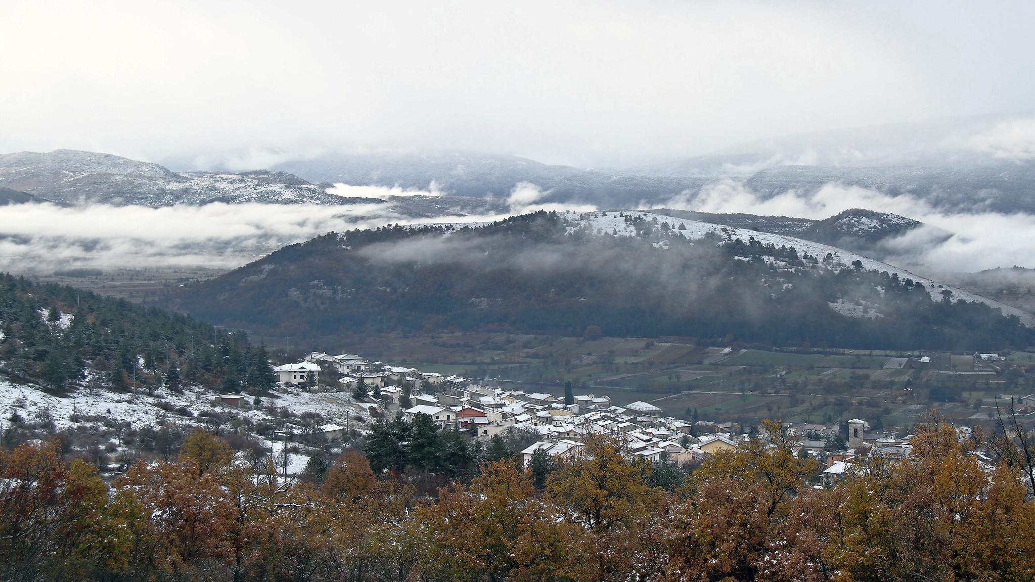 cenone di capodanno sulla neve in abruzzo