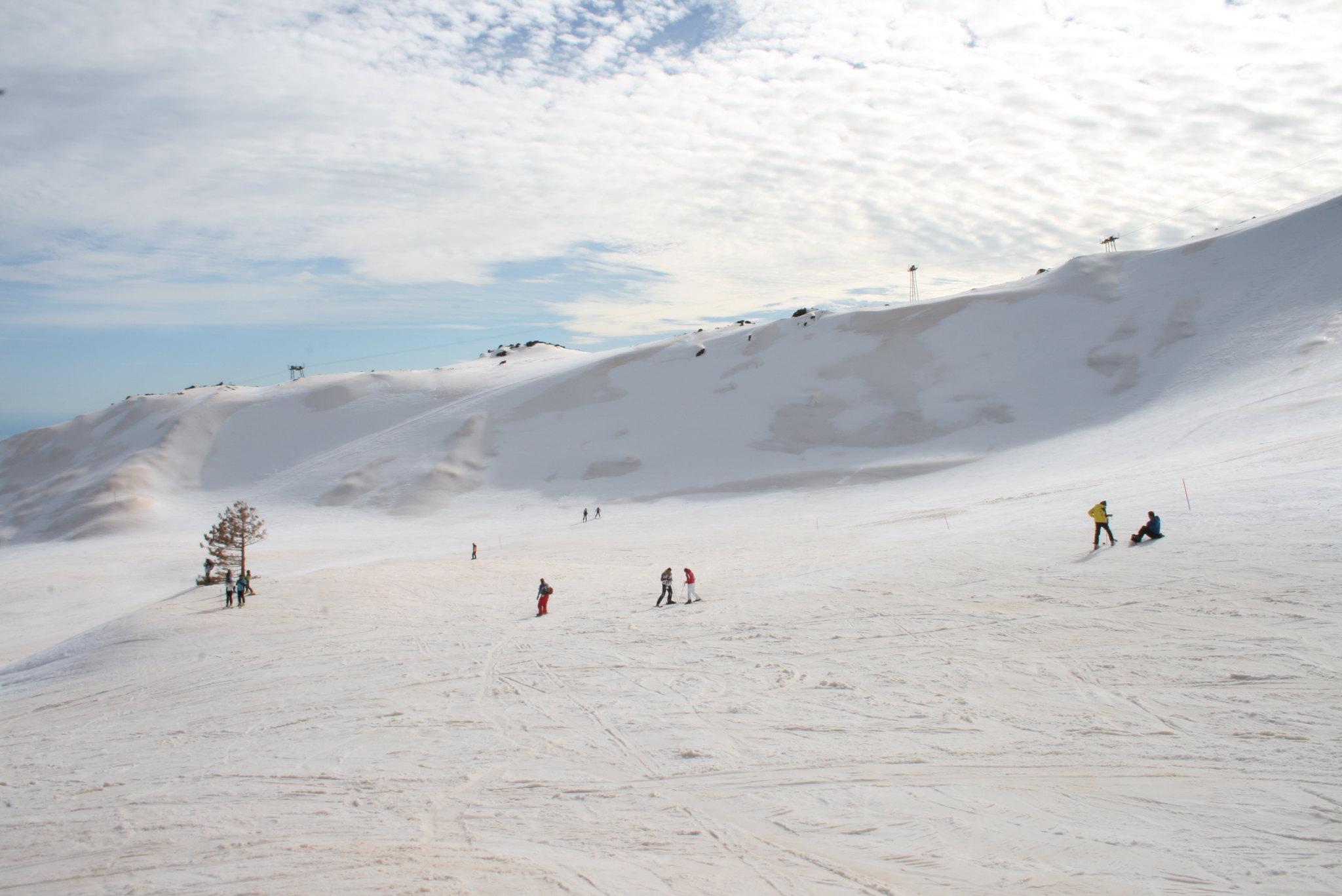 Fine settimana sulla neve in Sicilia