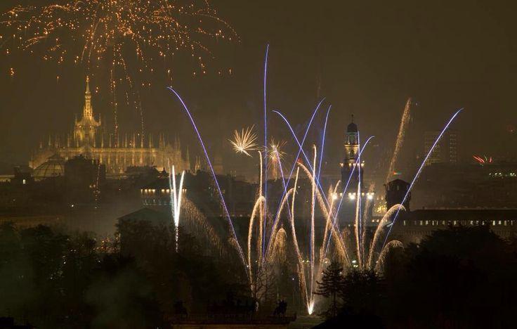 fuochi d'artificio milano