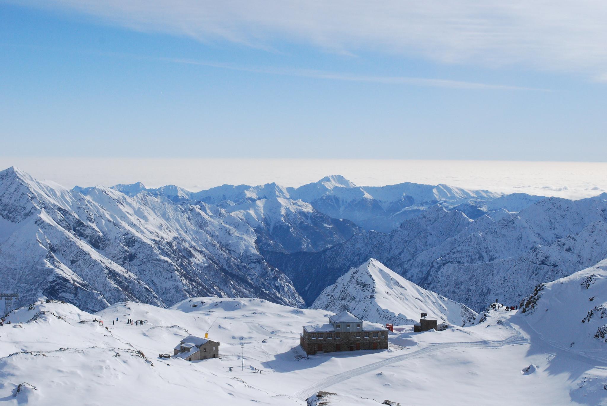 mete italiane dove sciare