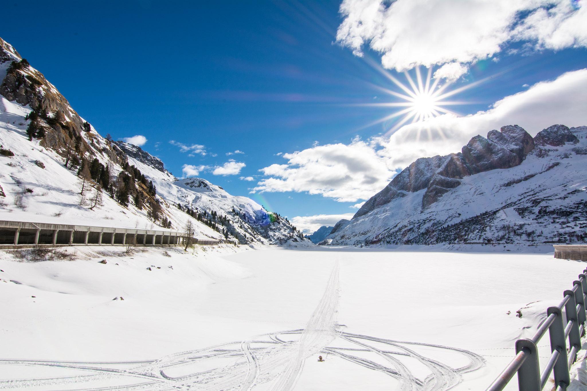 Piste da sci in Trentino Val di Fassa