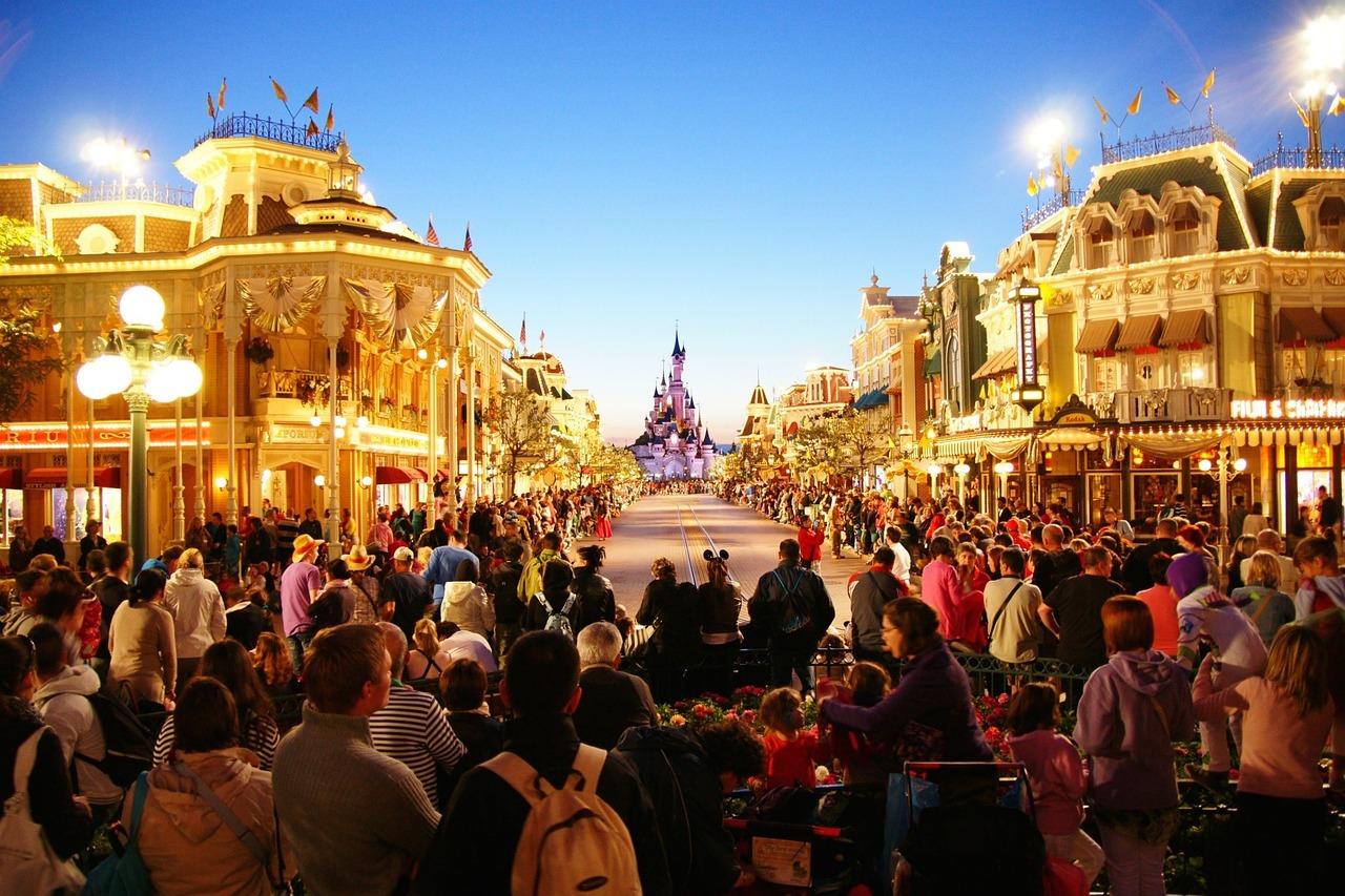 Primo dell'anno a Disneyland Paris