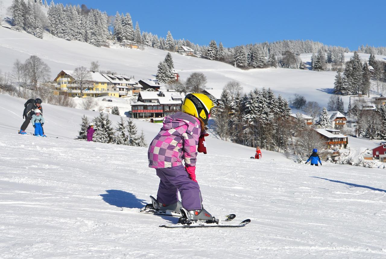Primo dell'anno in montagna con i bambini