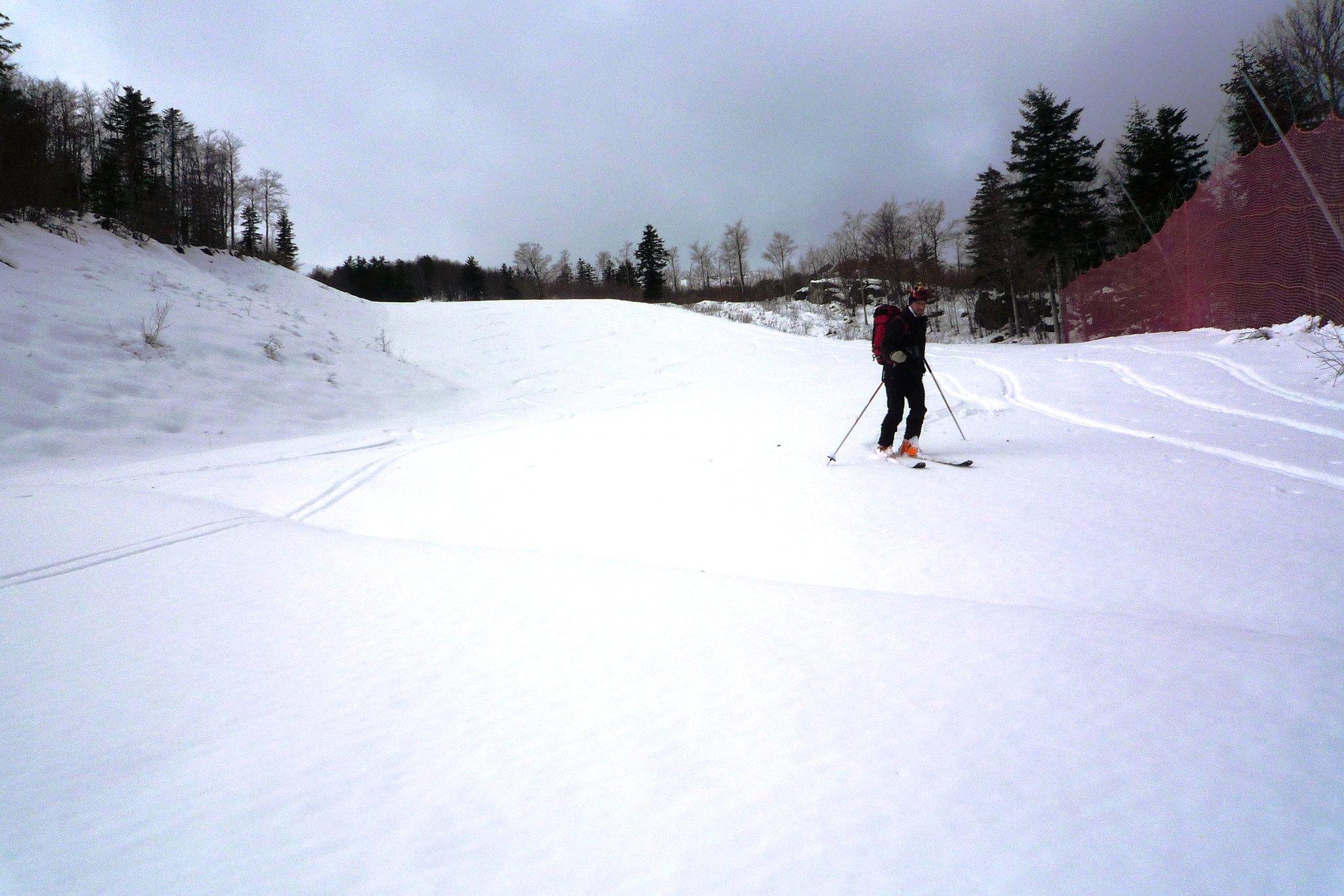 sciare all'abetone