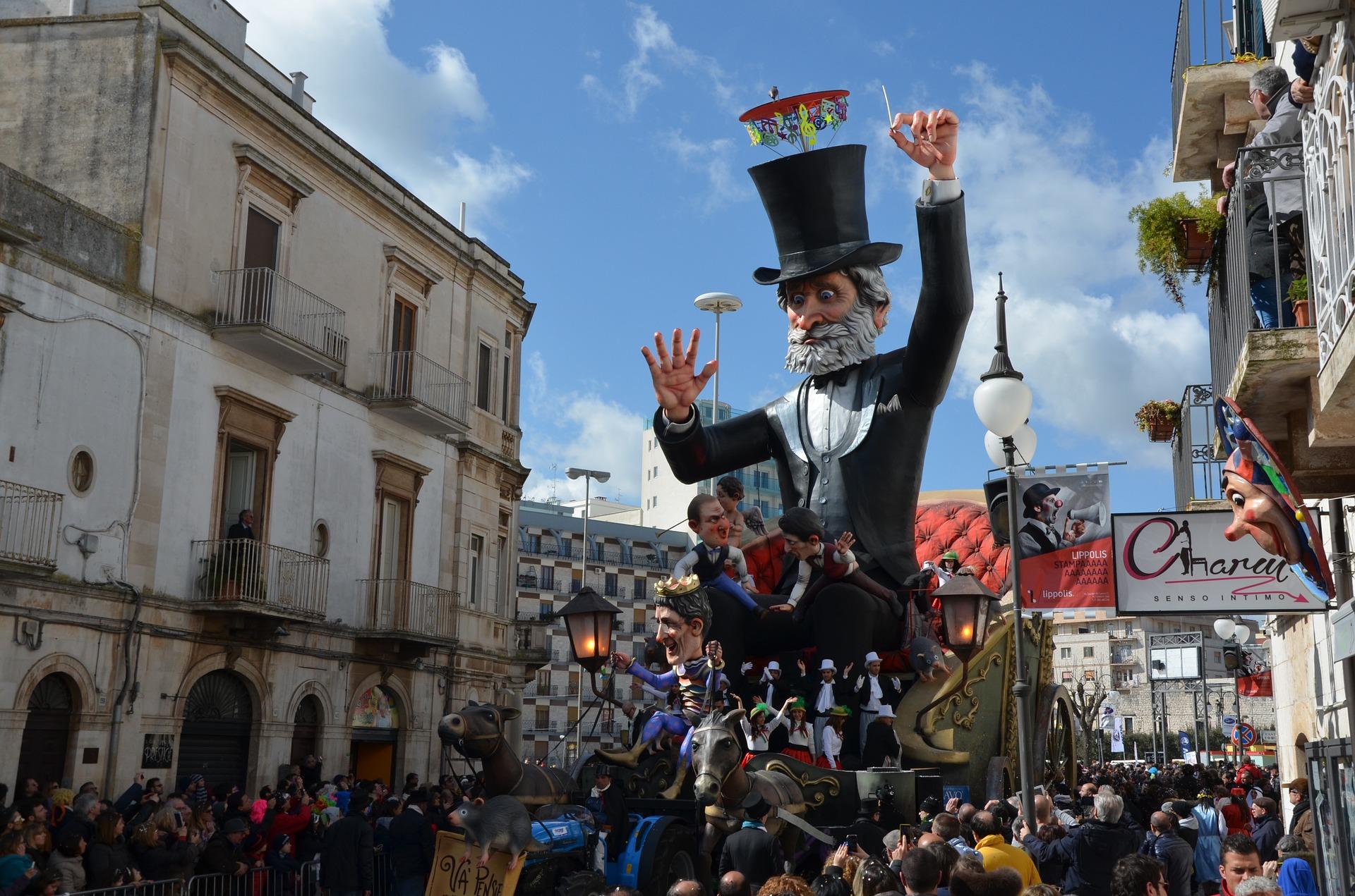 Carnevale di Putignano 2020 date