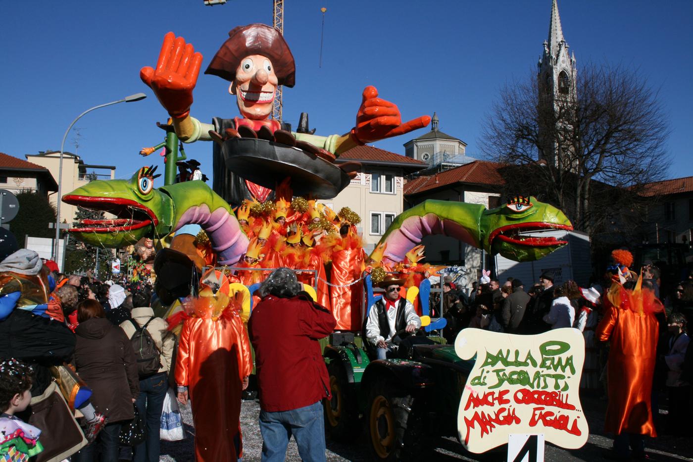 Carnevale Canturino 2020: date e programma