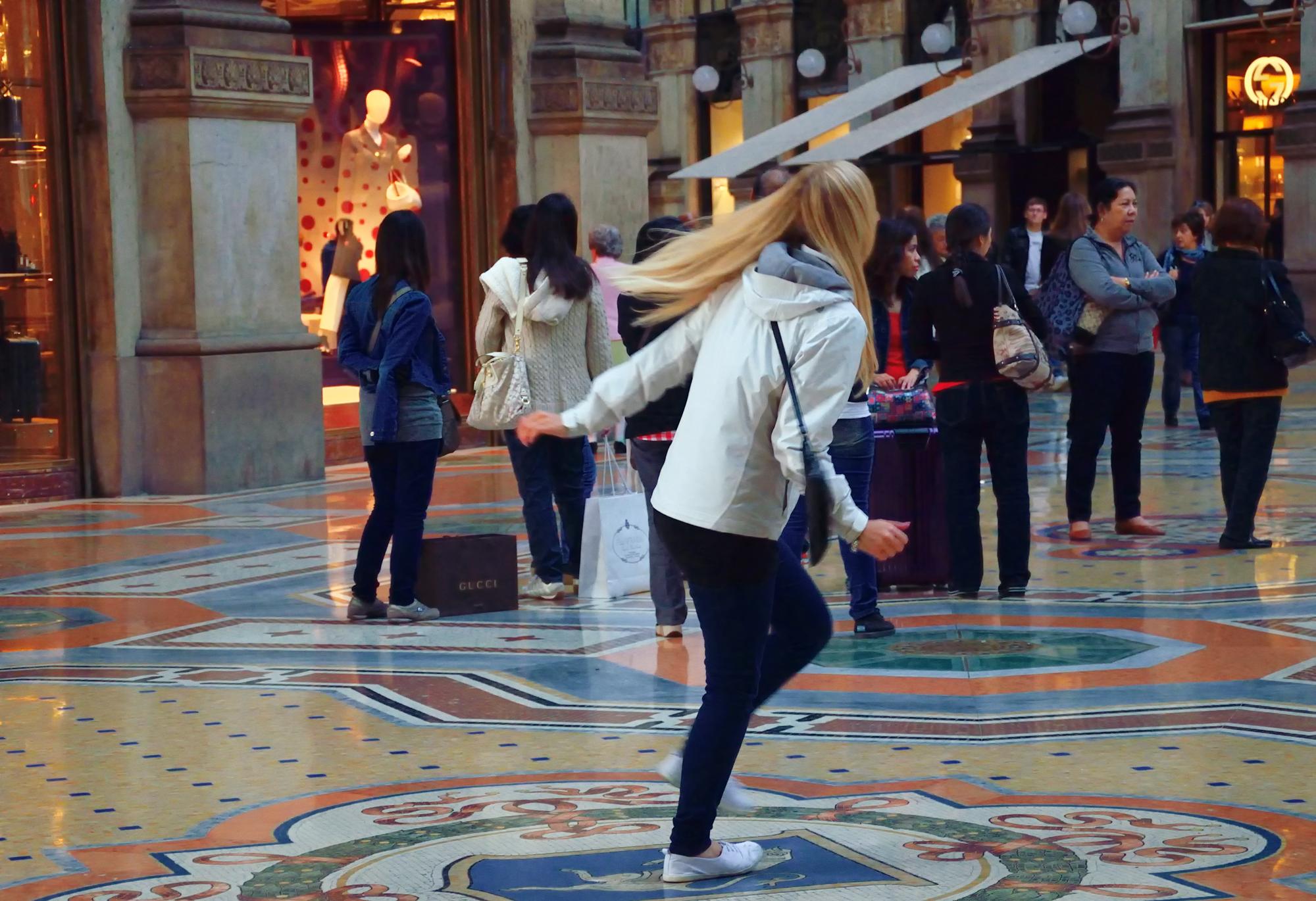 Il Toro della Galleria di Milano