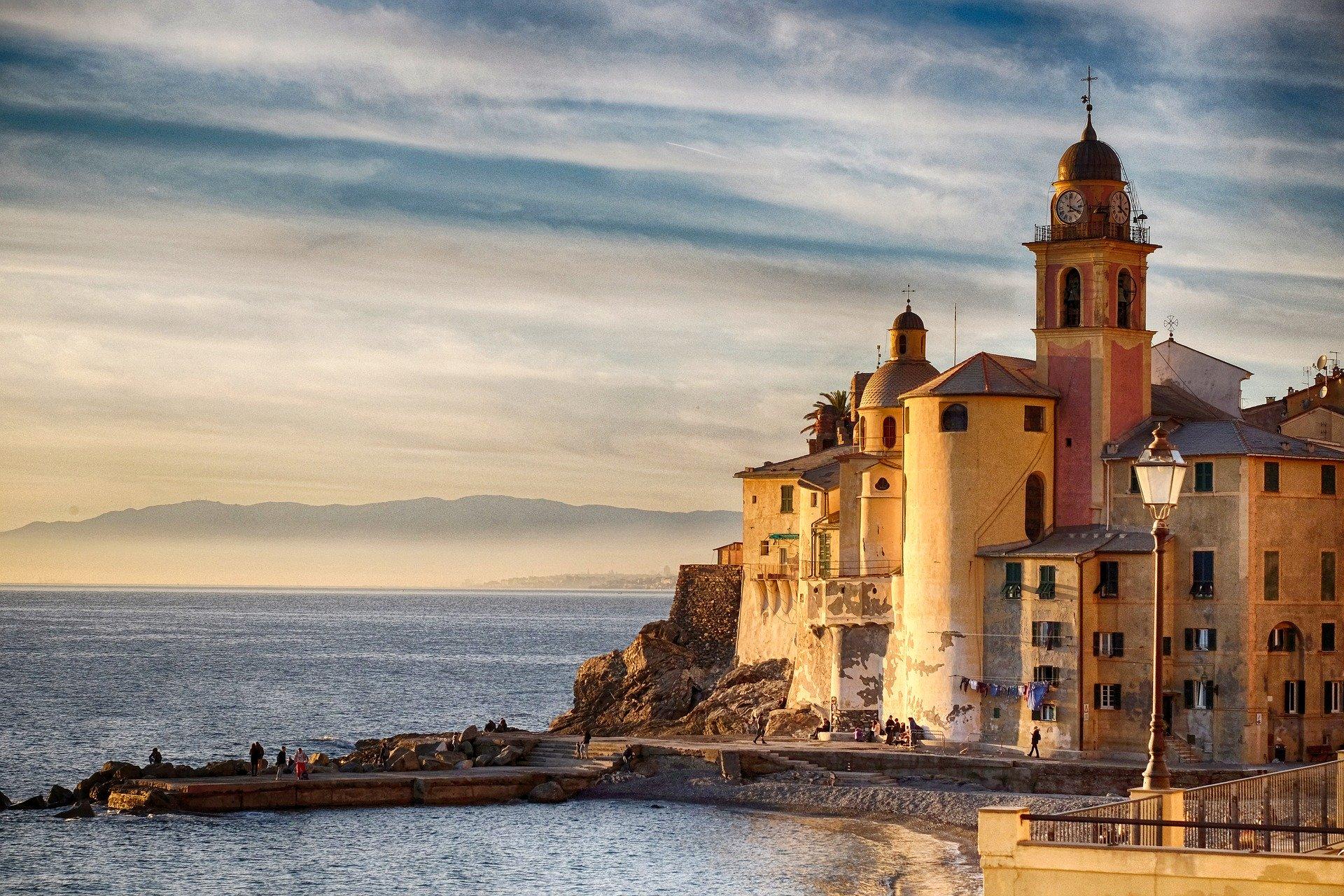 Camogli in provincia di Genova: