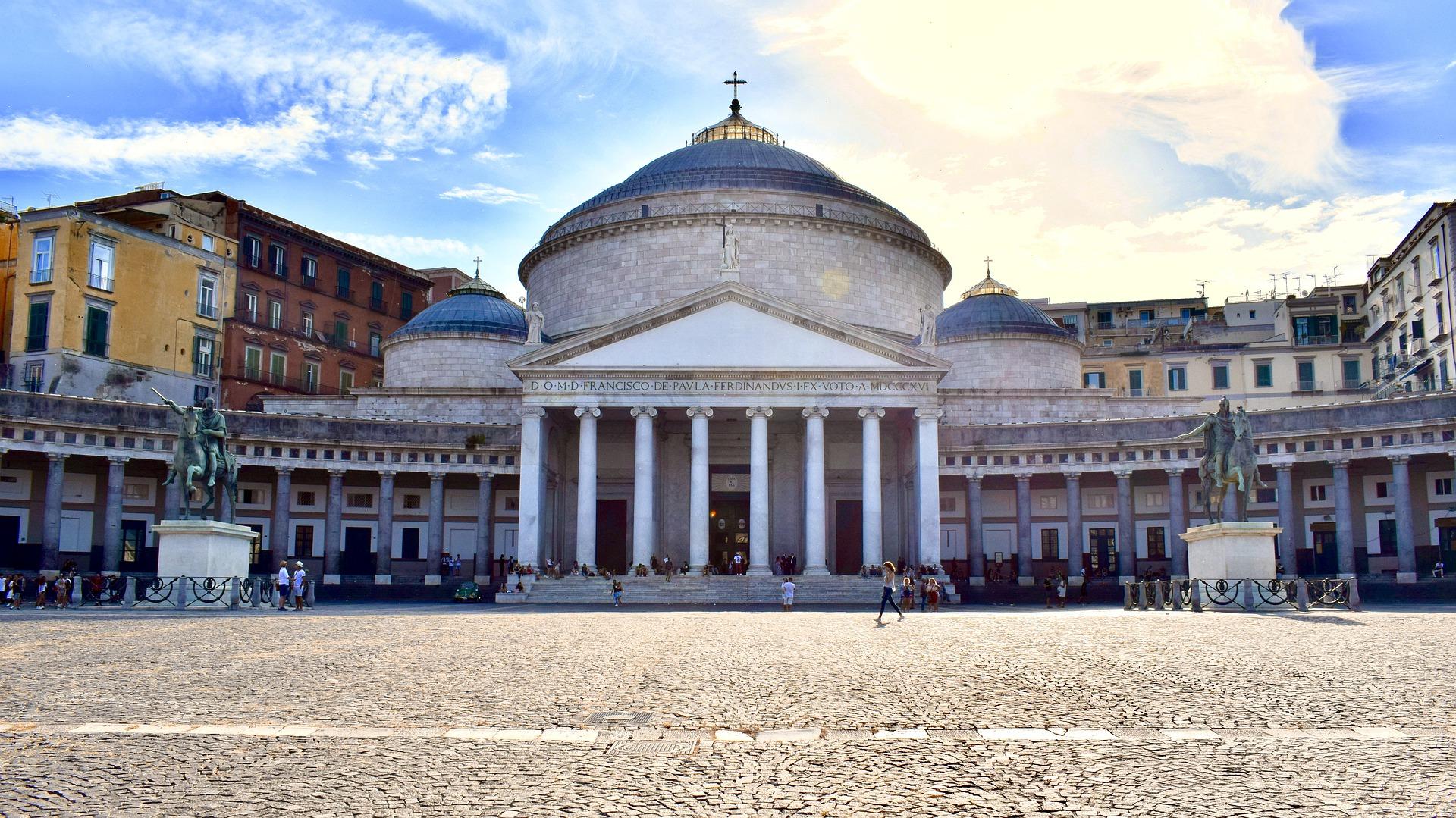 Castello delle cerimonie a Napoli