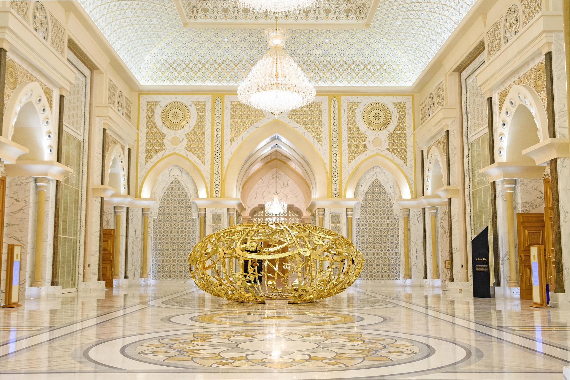 Palazzo presidenziale Abu Dhabi: