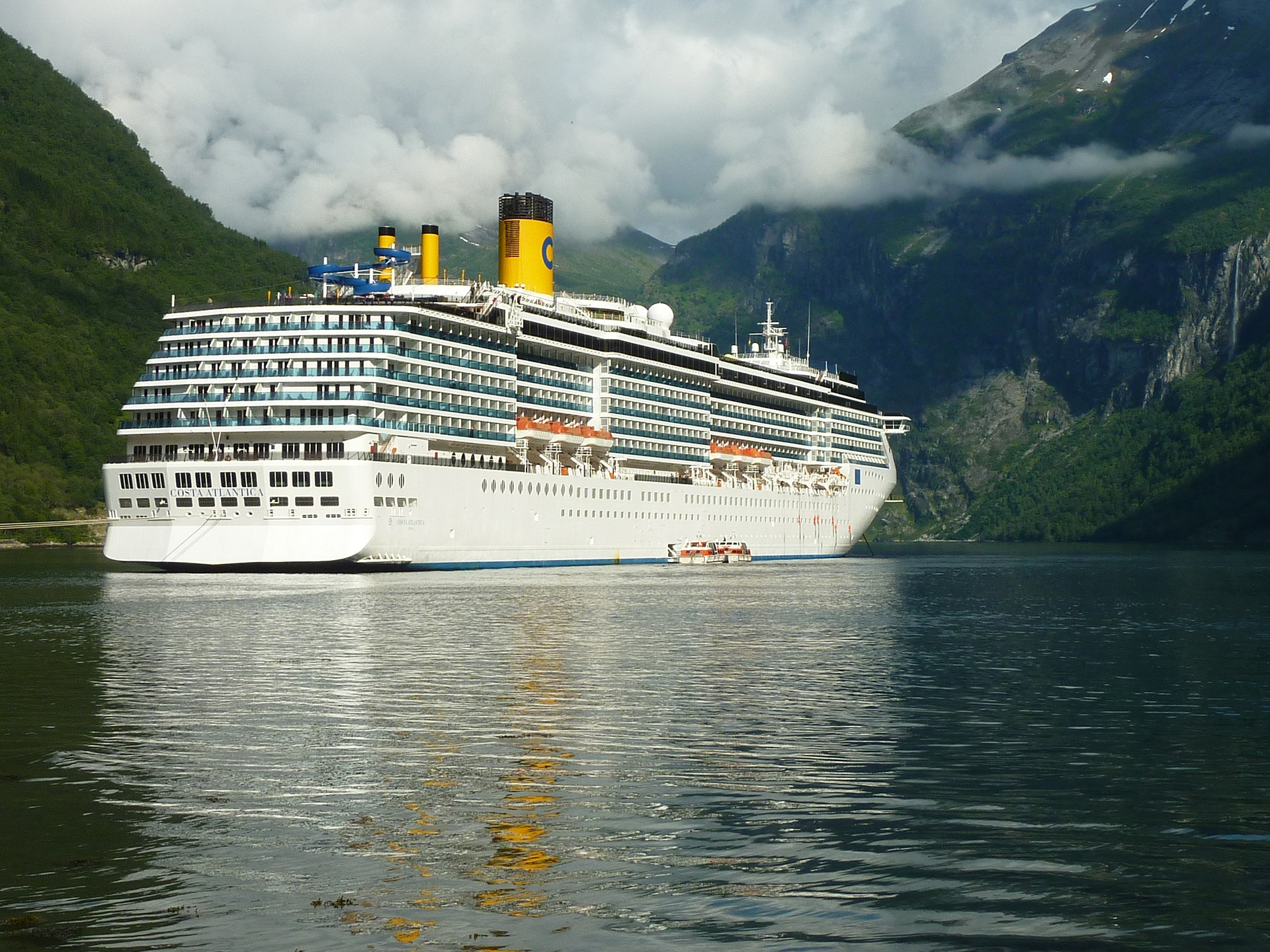 Costa Smeralda: itinerario della nave da crociera