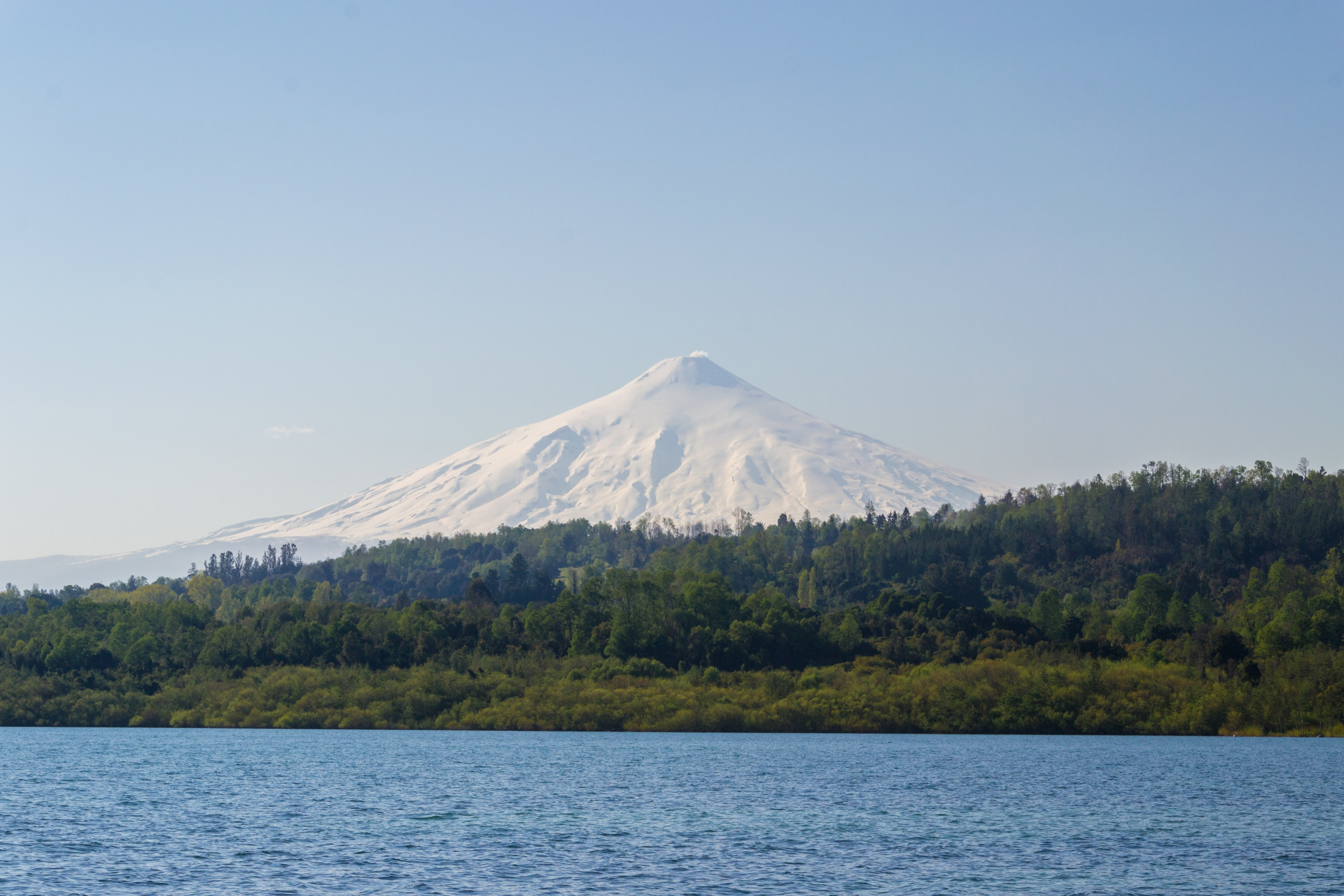 Vulcano Villarrica Cile