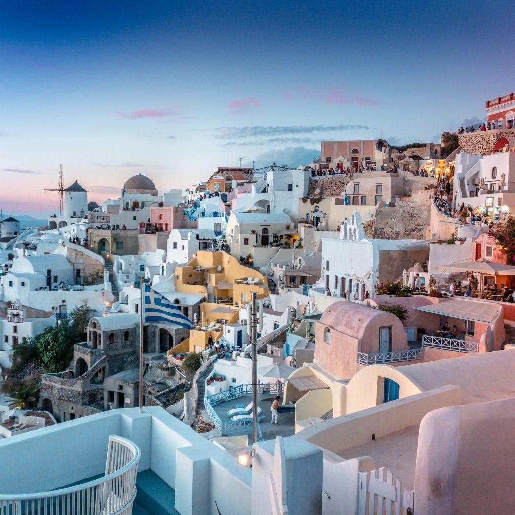 Voli low cost per Santorini Grecia: