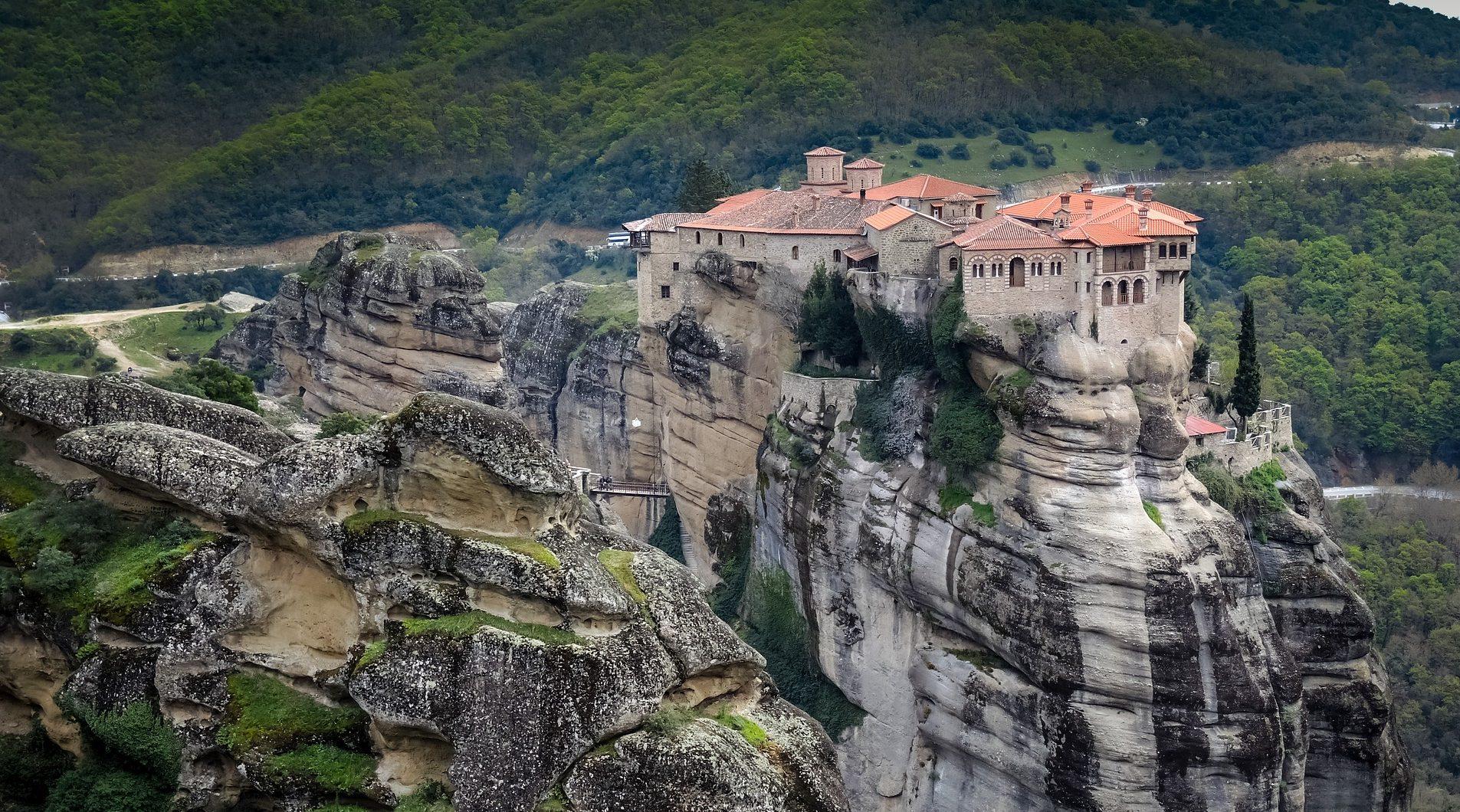Monastero Roussanou Grecia