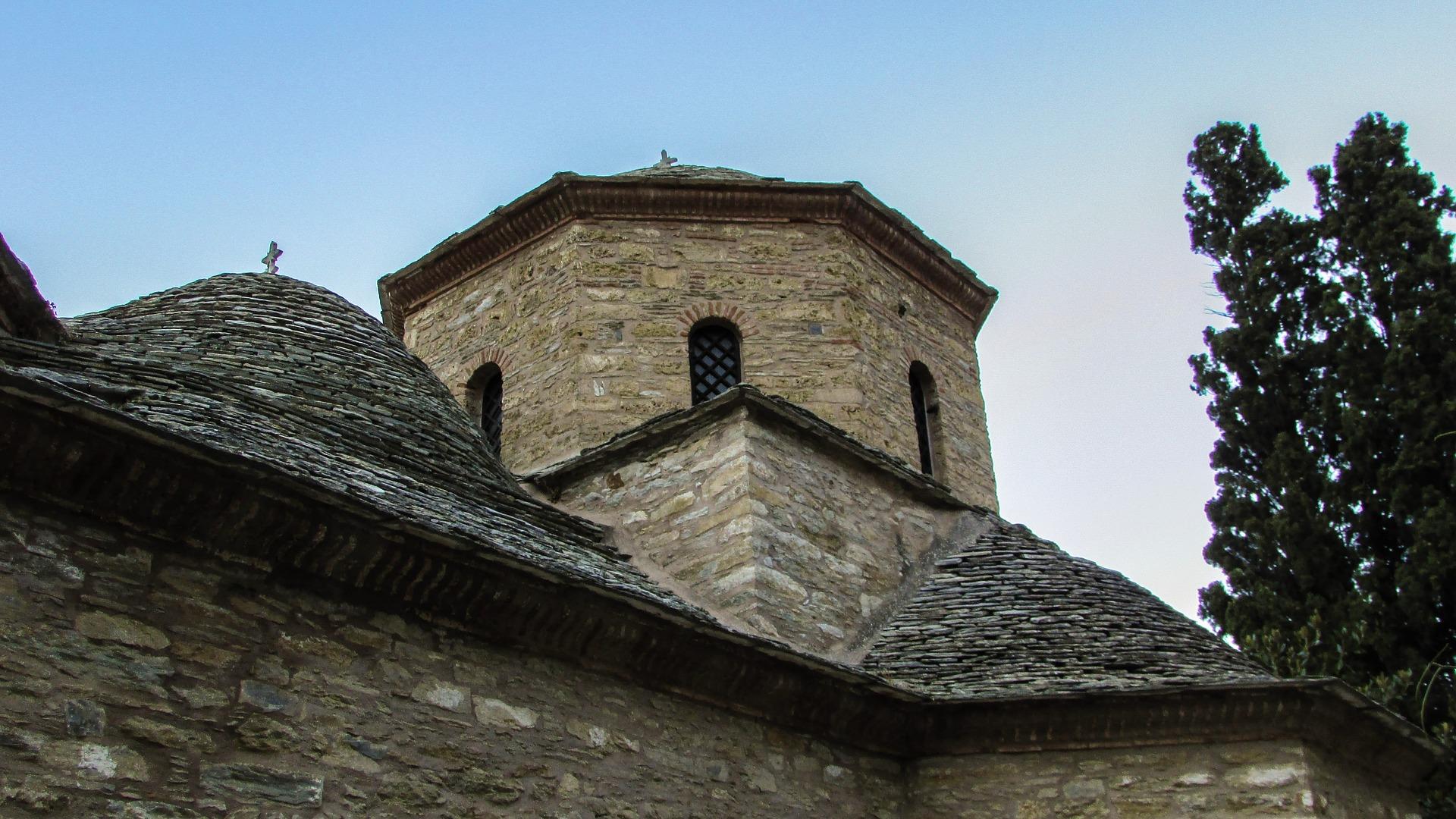 monastero dafni grecia