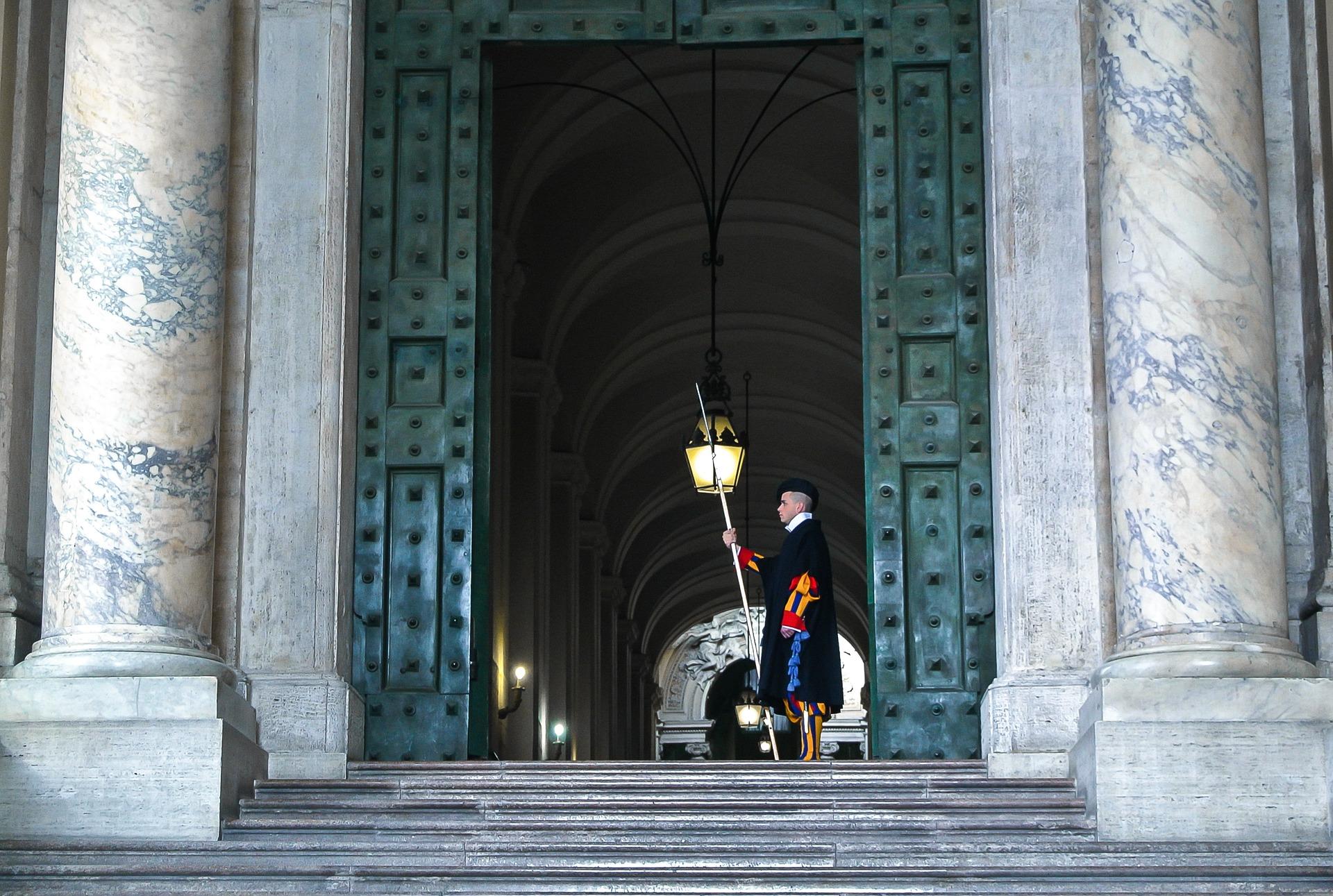 The New Pope location del film: