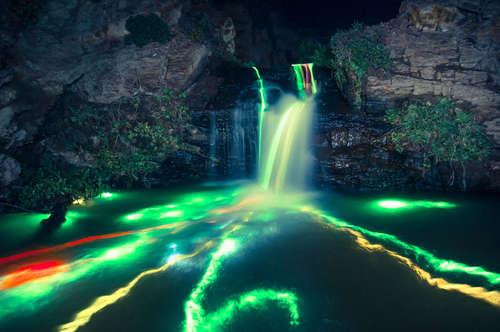 cascate luminose