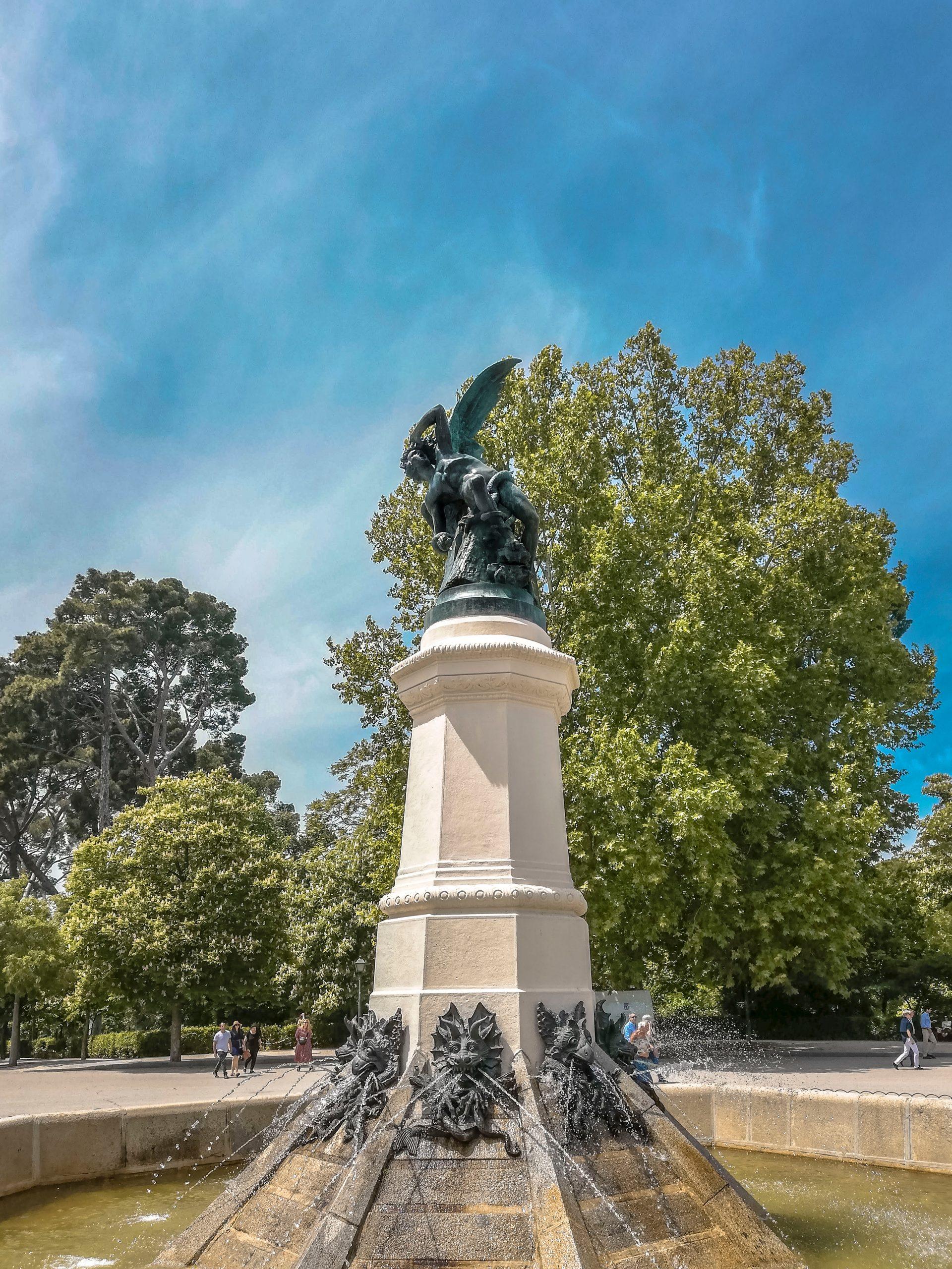 statua madrid