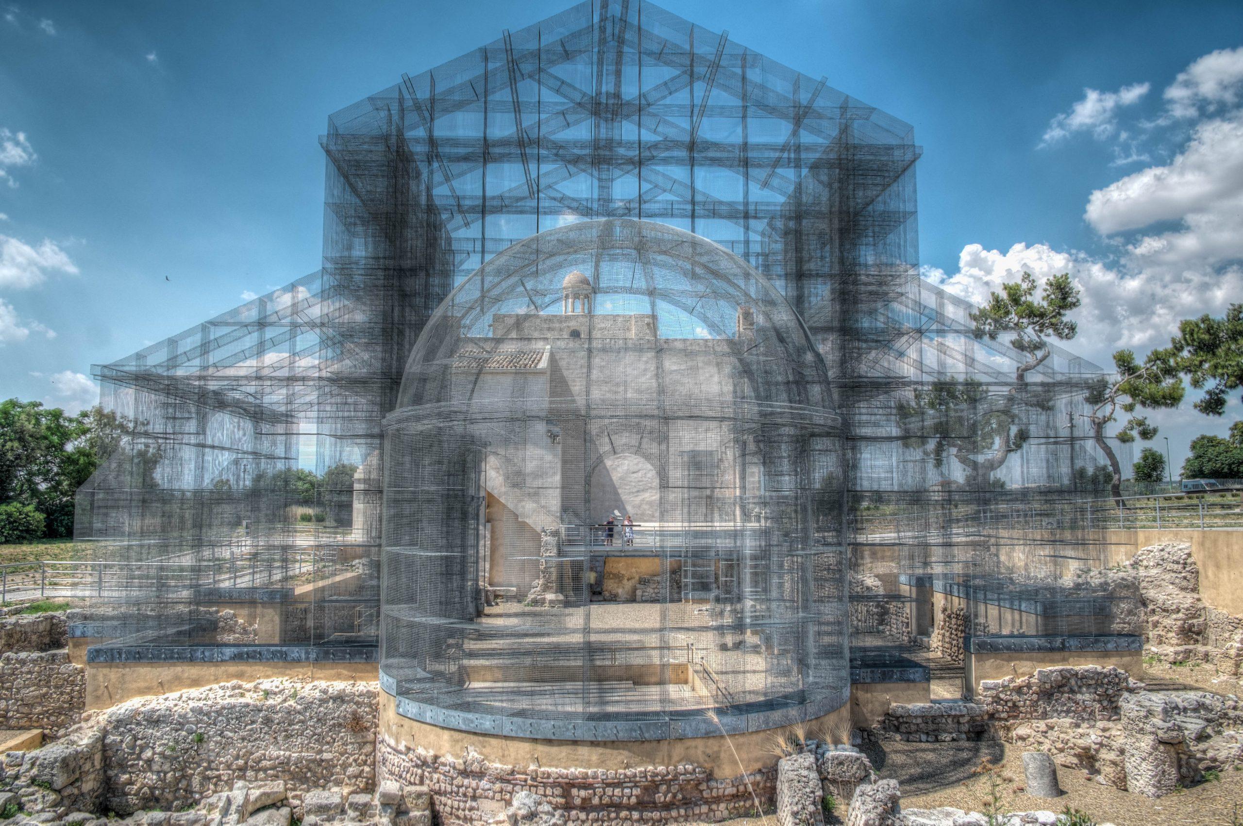 Basilica di rete metallica di Siponto