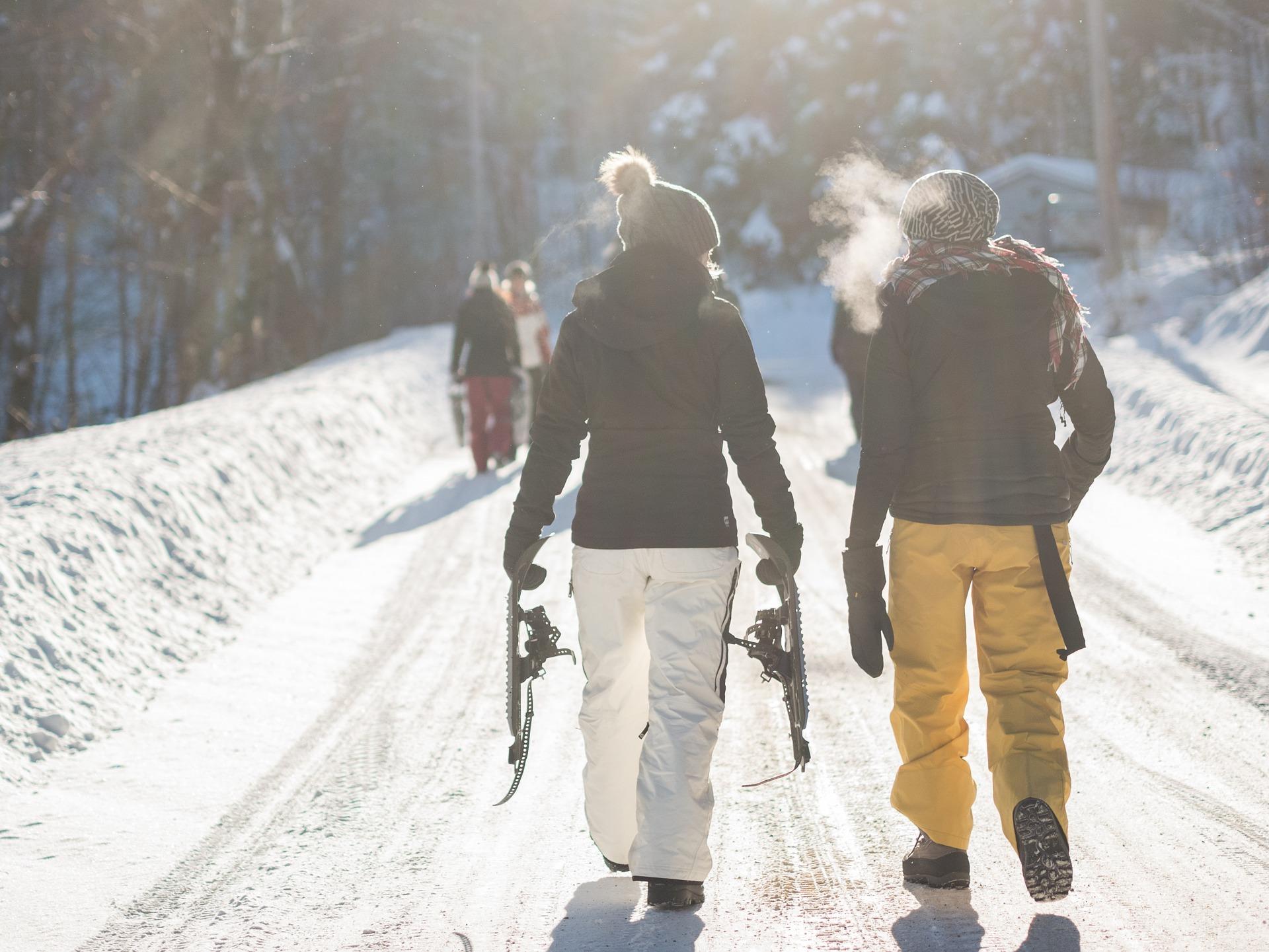 camminare al freddo fa bene