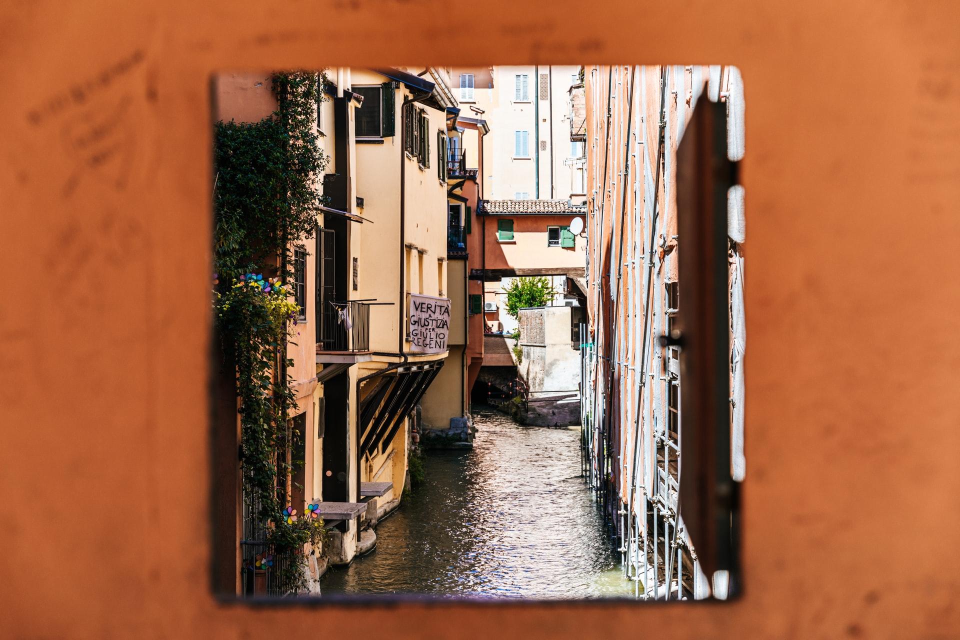 canale delle moline bologna via