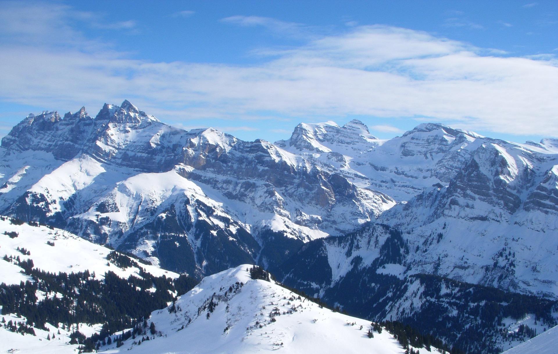 Montagne Dents Du Midi