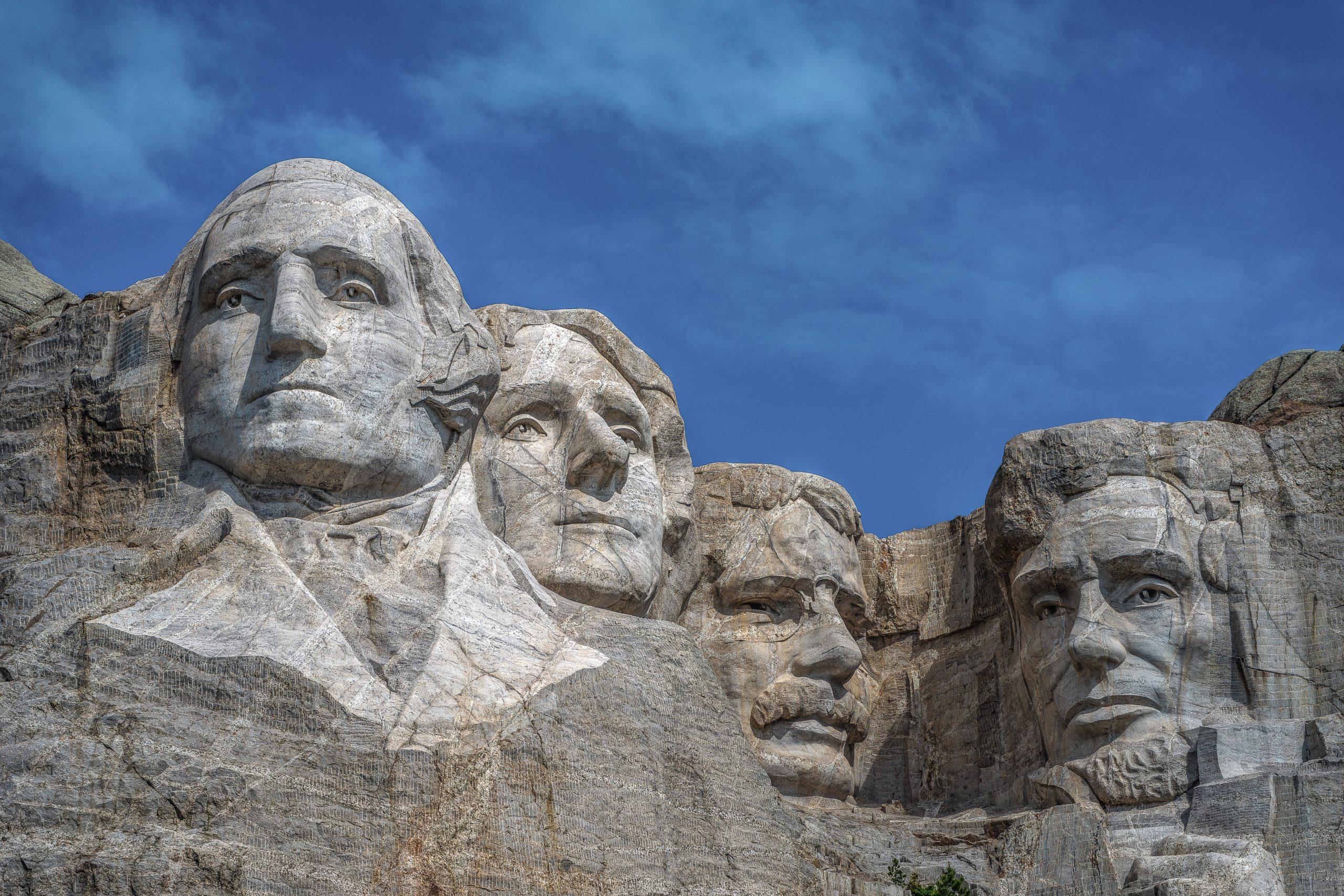 Monte Rushmore chi sono i presidenti