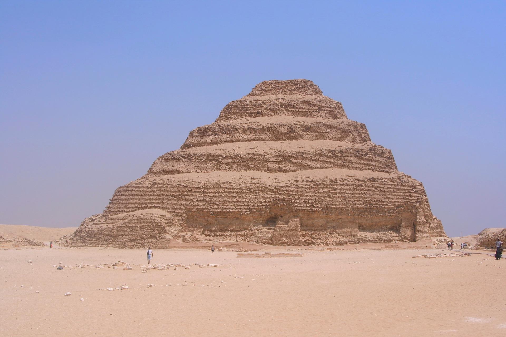 Piramide di Djoser Saqqara riapertura e informazioni