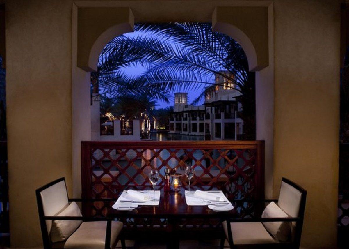 ristorante segreto dubai