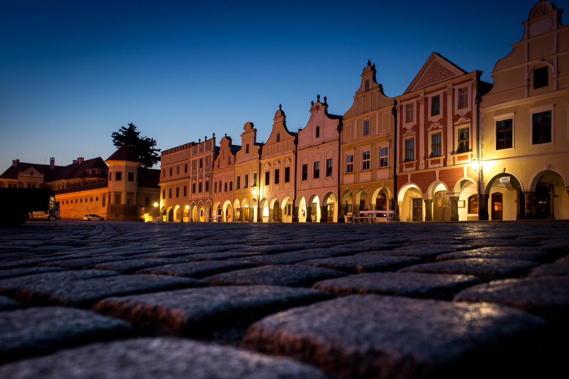 centro storico di Telč