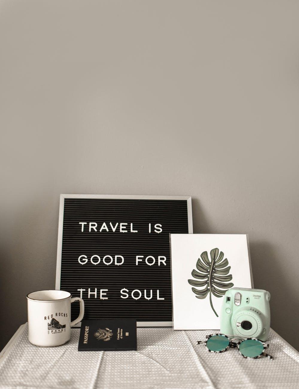 viaggiare in casa
