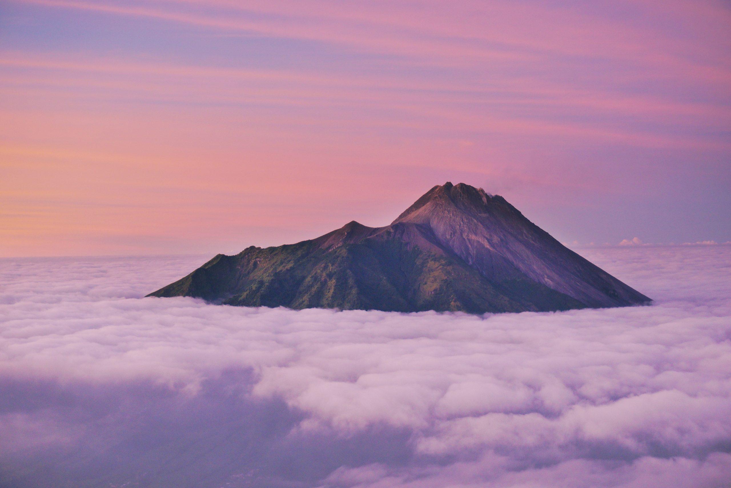 Vulcano Merapi Indonesia