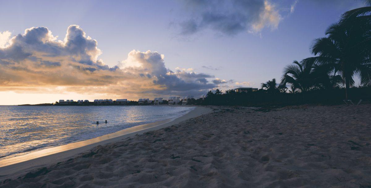 tramonto anguilla