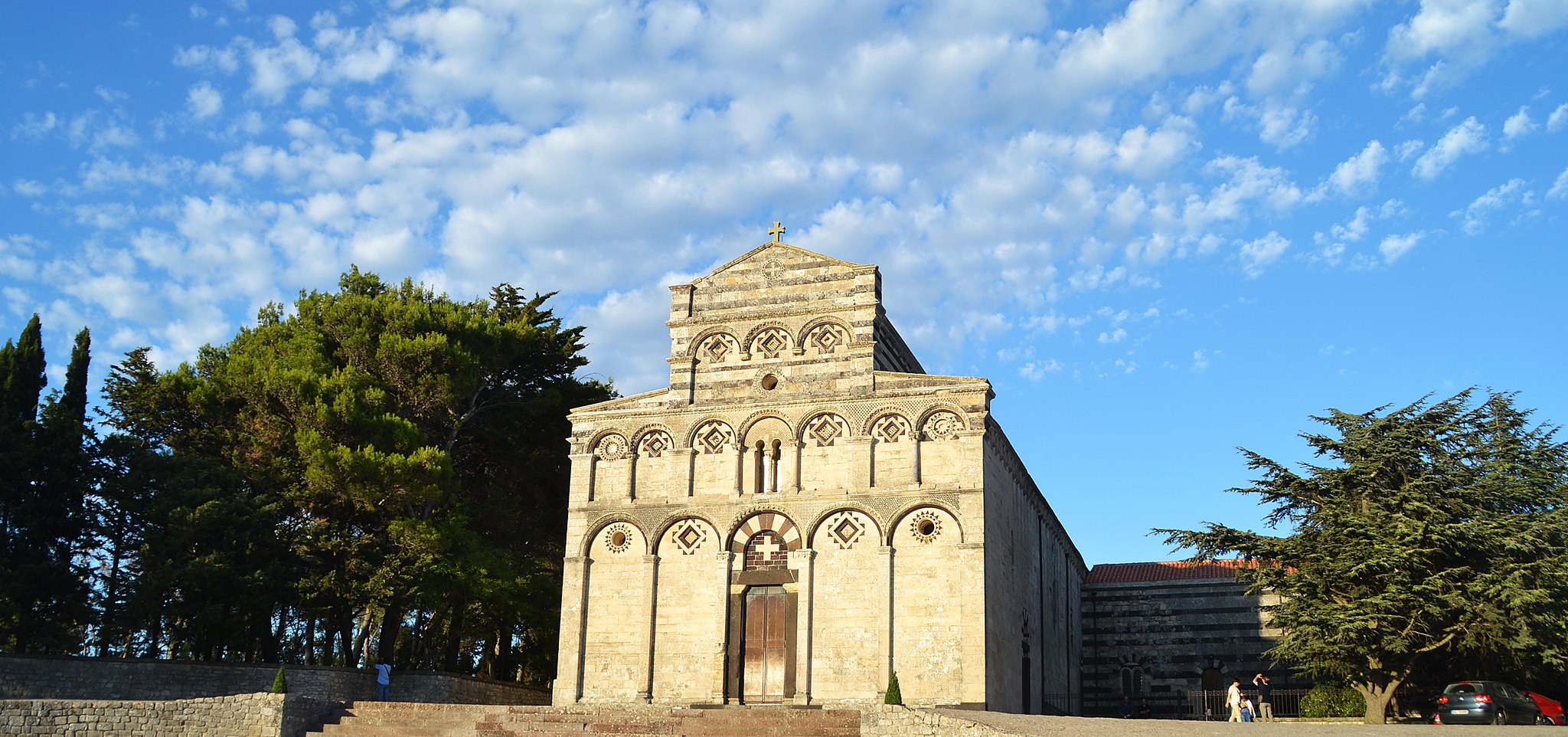 abbazia di san pietro di sorres sardegna